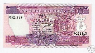 Isole Solomon Islands $ 10  1986  FDS UNC pick 15   lotto 2633