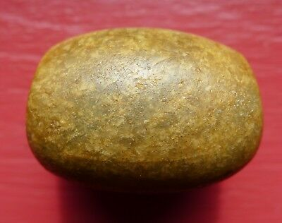 39mm Perle Ancien Amazonite Maroc Ancient Neolithic African Bead Mali Morocco