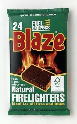 725493 Fuel Express Barbecue Firelighters Pack 24