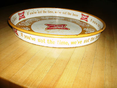 Vintage Miller High Life Beer Serving Tray, Milwaukee,Wis.