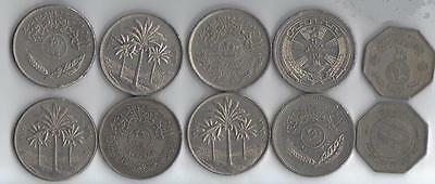 Iraq: 5 Piece Commemorative 250 Fils Coin Set