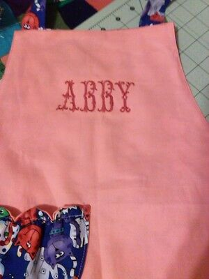 Personalize your items with embroidery and Monograms