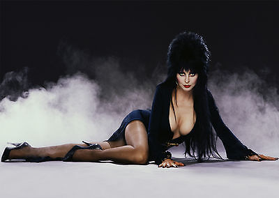 Elvira V2 - A1/A2 Poster **BUY ANY 2 AND GET 1 FREE OFFER**