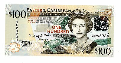 East Caribbean States … P-51 … 100 Dollars … ND(2008) … *UNC*