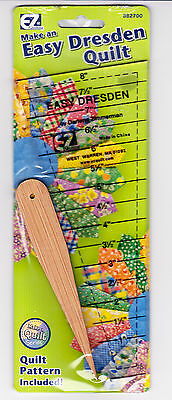Easy Dresden Ruler Pack by Darlene Zimmerman - 8""