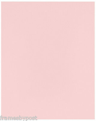 Acid Free Single Pink Daler Rowney Backing Mount Board In A Range Of Sizes