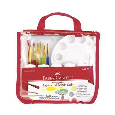 Art Drawing Faber Castell Young Artist Learn To Paint Set Kids Gift Child Xmas