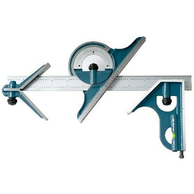 4 Piece Combination Square Set With 12 Inch Blade (4901-0003)