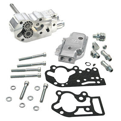 S&S Cycle Oil Pump Kit Standard Polished For Harley-Davidson FLH/T FX 1992-1999
