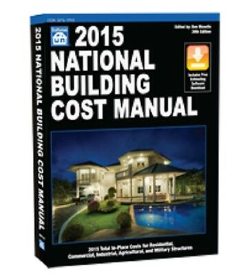 2015 National Building Cost Manual Craftsman Estimator System Book