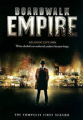 Boardwalk Empire ~ The Complete Season 1 One First Season Brand New DVD