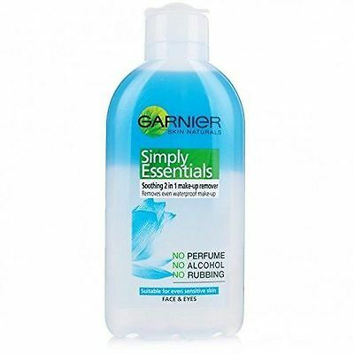 Garnier 200ml Skin Naturals Essentials Soothing Make Up Remover Face and Eyes