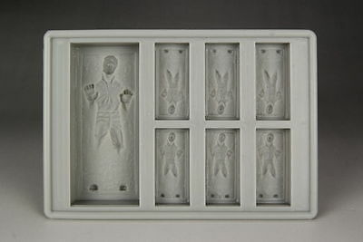 Star Wars Han Solo In Carbonite Silicon Ice Cube Tray USA Seller Free Shipping