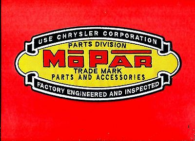 NEW HUGE 4 5/8 X 10 INCH MOPAR DODGE IRON ON PATCH FREE SHIPPING
