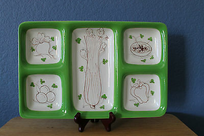 Mancioli Sectioned Dish/Tray Made in Italy for Meiselman Imports K.872/G