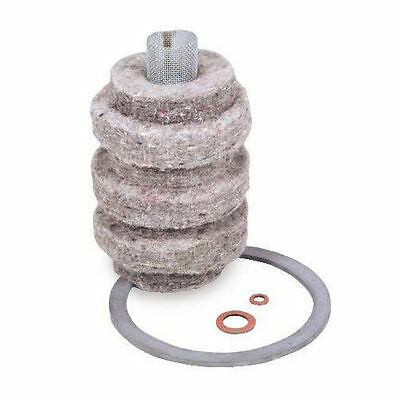 12 Pack Wool Felt Fuel Oil Filter Replacement Cartridge by General Filter 1A-30