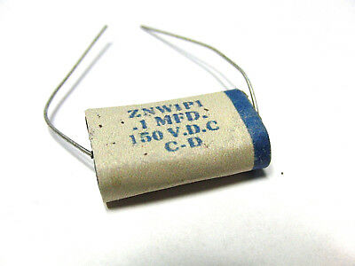 F60 Oil Capacitor used in 1960 0.1 mfd 150 VDC fits to Fender®