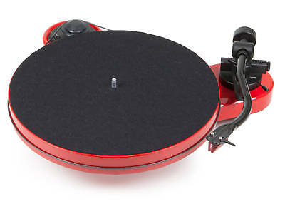 Pro-Ject RPM-1 Carbon Turntable - Gloss Red