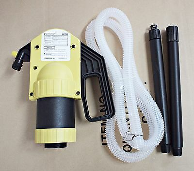 NEW DUKSHIN Lever Drum Pump DLP-350 Pipe Hose Adjustable Suction Tube