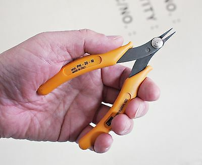 """NEW EXSO Italy 5"""" Micro Flat Fine Nose Plier Jewelry Electronics Delicate Work"""