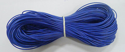 10M UL-1007 24AWG Hook-up Wire  80°C / 300V Blue Electronic Material