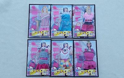 """DOLL DRESS & ACCESSORY PLAY SET,Fits Barbie/11.5"""" Dolls,Stocking Filler,Gift."""