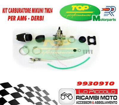 9930910 Kit Aspirazione Collettore+Carburatore Mikuni Tm 24 X Am6/Derbi Tpr 360