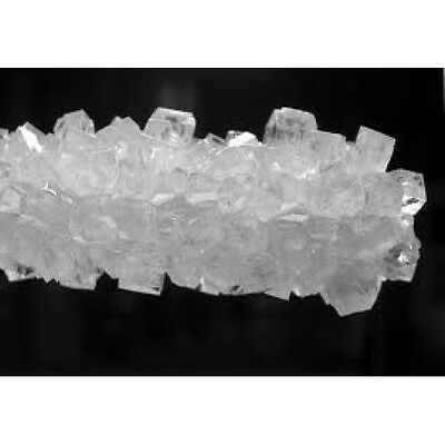 Rock Candy Crystals On Strings White, 5Lbs