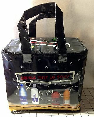 "Coca Cola ""Drinks That Do Stuff"" Partitioned Lunch Bag Insulated Cooler"
