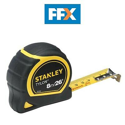 Stanley STA130656N Tylon Pocket Tape 8m / 26ft - loose