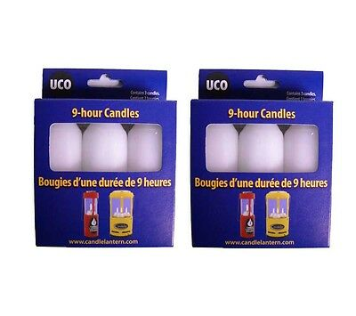 Uco 9 Hour Candles 6 pack Emergency Preparedness Checklist