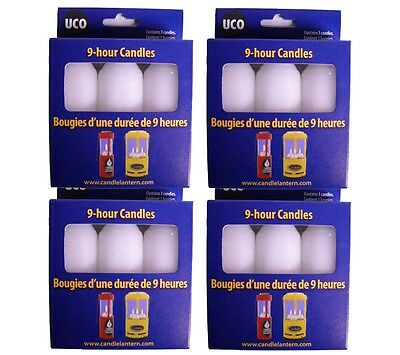 UCO 9 Hour Candles-12 Pack -Emergency Preparedness Checklist