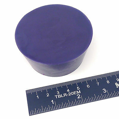 "(1) 2 7/16"" x 3"" #13.5 High Temp Silicone Rubber Plug Powder Coat Coating Paint"