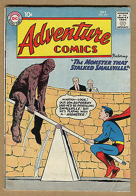 Adventure Comics #274 - Monster & Smallville -1960 (Graded 4.0) WH