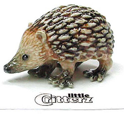 ➸ LITTLE CRITTERZ Forest Animal Miniature Figurine Hedgehog Tiggy