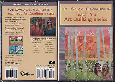 DVD:  Jane Dávila & Elin Waterston Teach You Art Quilting Basics