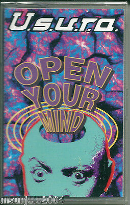 Usura. Open Your Mind (1993) Musicassetta NUOVA What You Gonna Do About My Love