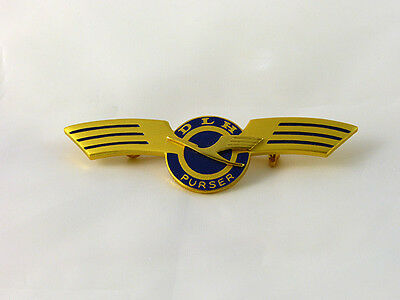 Vintage Lufthansa German Airlines Flight Attendant wings (Purser) mint condition