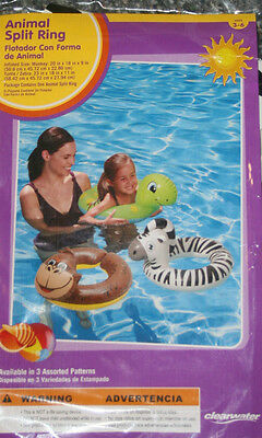 Inflatable Turtle Animal Pool Split Ring Clearwater 23 Quot
