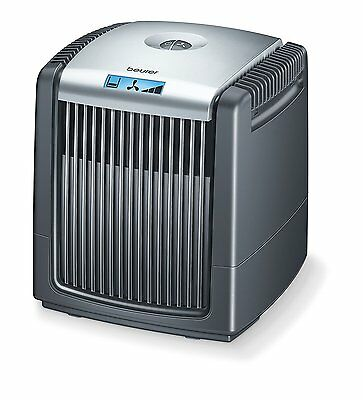 Beurer Air Washer LW110BLK Air Humidifier/ Cleaner, 7.25 Litre, 38 Watt, Black
