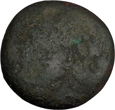 PTOLEMY II 265BC Galatian Shield RARE Sicilian Syracuse? Mint Greek Coin i44753