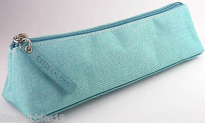 Estee Lauder Cosmetic Bag/Purse Pale Blue Ideal For Makeup Brushes Lovely Gift