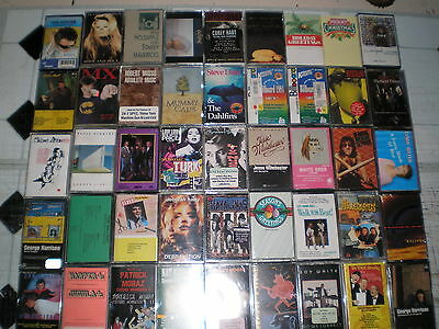 45 New Music Cassettes: All New & Different! 80's & 90's Music Plus More! # 5