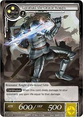 Garahad, the Oracle Knight FoW Force of Will 1-011 R Eng/Ita/Jap