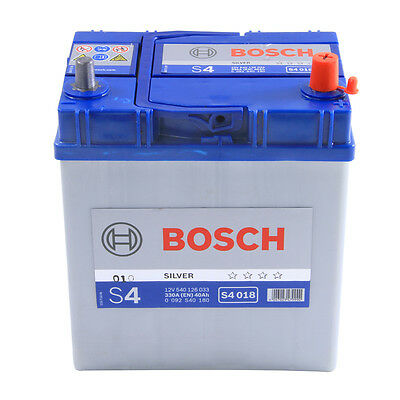 Bosch Car Battery 12V 40Ah Type 054 205/330CCA 4 Years Wty Sealed OEM Quality