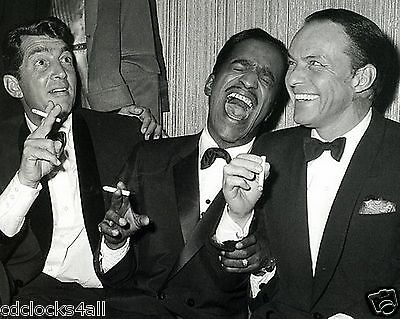 The Rat Pack Dean Martin Sammy Davis Jr. & Frank  8 x 10 GLOSSY Photo Picture