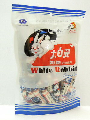 Chinese White Rabbit Creamy Candy Milky Chewy Sweets 180g