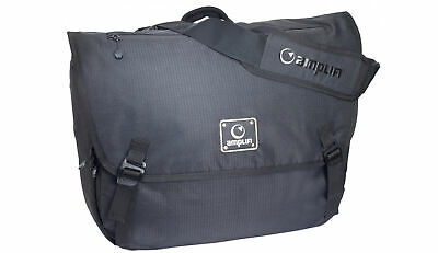 Amplifi Messenger Bag - Emissary Pack Black 26L - Shoulder, Laptop