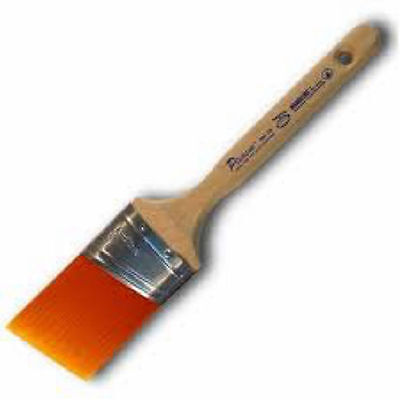 "Proform Picasso Synthetic Orange Bristle 1.5"" Angled Oval Paint Brush PIC1-1.5"