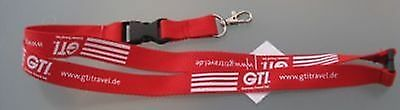 GTI German Travel Int. Schlüsselband Lanyard NEU (Z42)